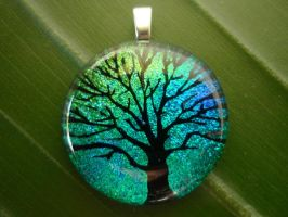 Tree of Life Fused Glass 2 by FusedElegance