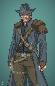 Jonah Hex (Earth-27) commission by phil-cho