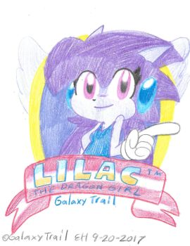 Lilac The Dragon Girl by Edxtreme