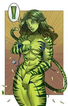 Gamma Tigra Color by RamArtwork