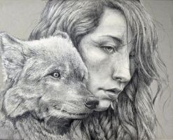 Untitled WIP Underdrawing by MichaelShapcott