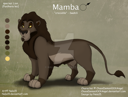 Mamba the Wetlands King - Custom Character by Nala15