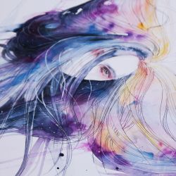 Big Bang in watercolor - new video by agnes-cecile