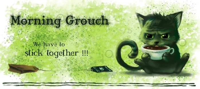 Morning Grouch by Wolka-Art