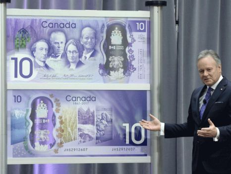 Canadian New 2017's Doctor Who 10$ by lianit