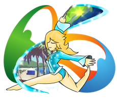 Rosalina: Ribbons in Rio by Xero-J
