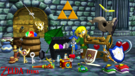 (MMD Model) Wind Waker Items Download by SAB64