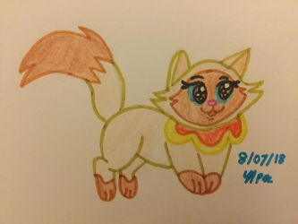 Sagwa The Chinese Siamese Cat by BlossomBright