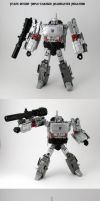 Headmaster Megatron by Unicron9