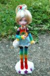MH Custom: Rainbow Brite by ArtsyAndreaM