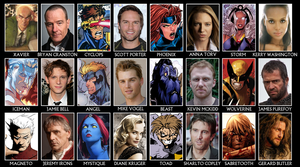 X-Men Casting Call by AtomTastic