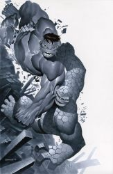Hulk vs Thing by ChristopherStevens