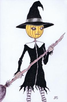 Pumpkin Witch [46a] by JRS-ART