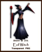 Evil Sorceress by shd-stock
