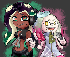 Squid Idols by sheandog