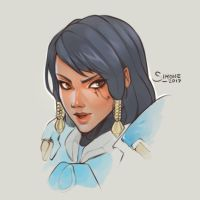 Pharah by simoneferriero
