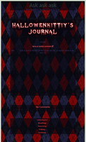 hallowenkittiy journal skin commission by TaNa-Jo