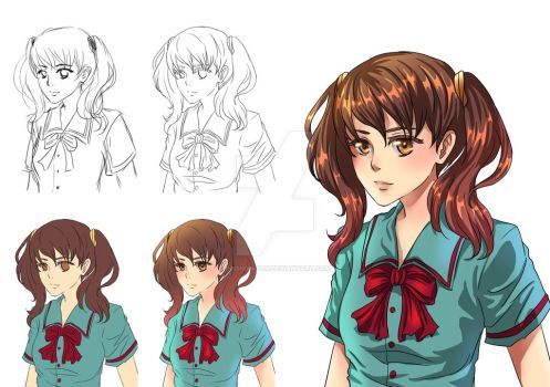 Simple Drawing Process