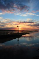 Normandy Sunset 9 by YunaHeileen