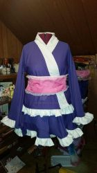 Made to Order Japanese Lolita Themed Kimonos by TimeyWimeyWearables