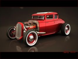 Ford Hot Rod by StkZ613