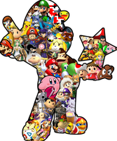 Nintendo collage thing by DryBones157