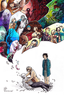 All the colours are gone (Children of Time) by JohannesVIII