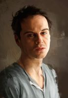 Andrew Scott by WisesnailArt