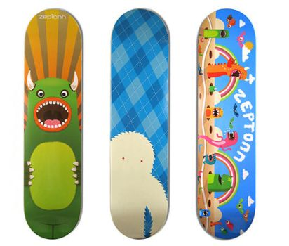 Popcling Skateboards by stingerstyler
