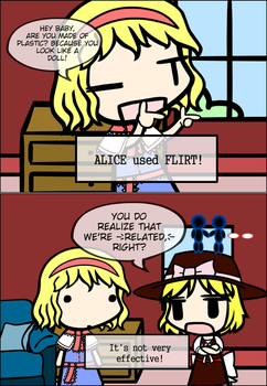Touhou in Sims 2: Relativity by FullHitPoints