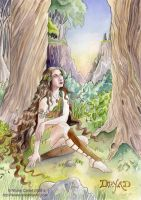 Dryad - Final Painting by NicoleCadet