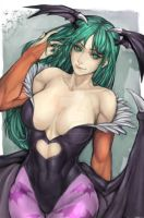 Morrigan Aensland - Request #4 by mistermediocre
