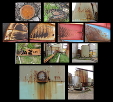 Stock Pack: Industrial Rusty Stuff Vol. 1 by ChimeraDragonfang