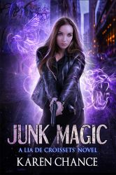 Junk Magic (Book Cover) by FrostAlexis