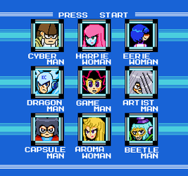 Yu-Gi-Oh Robot Masters by lalalei2001