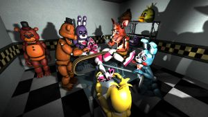 Tickle Room v2 by sfmff