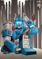 Ultra Magnus - colour by hellbat