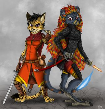 Seferi and Raissa by Ziegelzeig