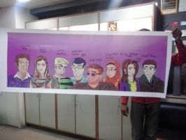 The Mural Finally Printed by kalabadi-hallaj