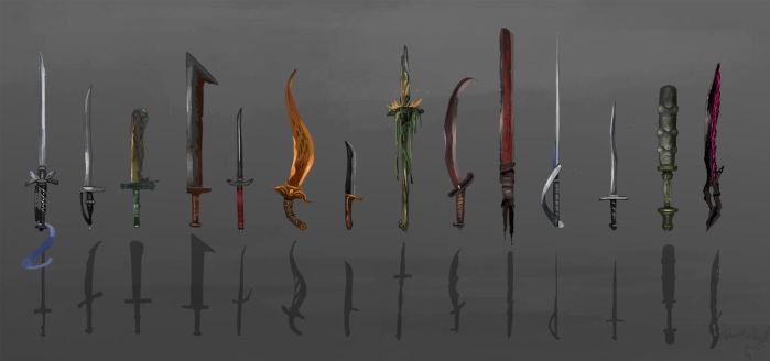 weapon concepts by ThemeFinland