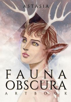 [Fauna Obscura] Artbook cover by asthasia