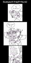 TF - Soundwave's Starsitting Day omake part 1 by Cloud-Kitsune