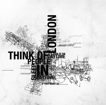 Think of London... by thesoulcanwait