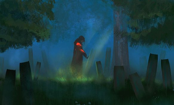 The graveyard by Eaworks