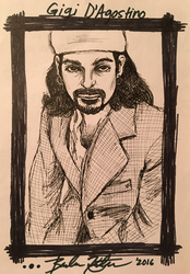 Young Gigi D'Agostino Sketch by BelievingIsSeeing