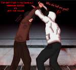 What-If: Norman Bates Vs Jeff the Killer (Old) by TheOnePhun211