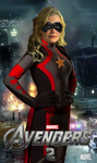 Ms. Marvel - Avengers 2 movie poster by danthe93