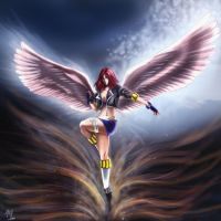 Angel of Vengeance by Mami02