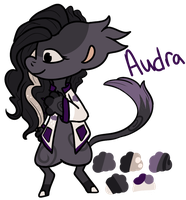 Reference Sheet- Audra by PonOfGriffia