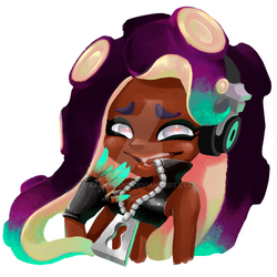 Marina Splatoon 2 by KamuiHand